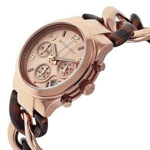 🔥SALE🔥MK Rose-Gold Stainless Steel Watch