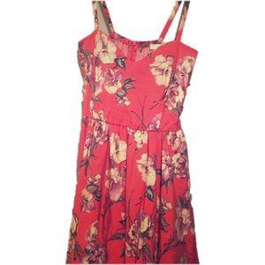 Lush Dresses & Skirts - LUSH- Peach floral Dress