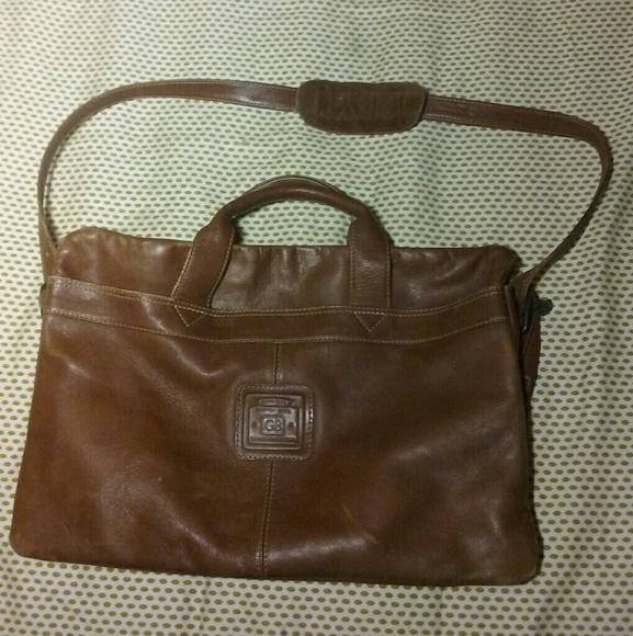 2386a1ec79ad Geoffrey Beene Handbags - Geoffrey Beene GB original leather bag