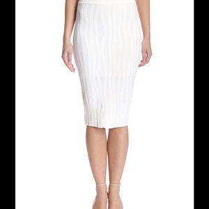 Stella & Jamie Dresses & Skirts - Stella & Jamie, Ursula Pencil Skirt, White, M.