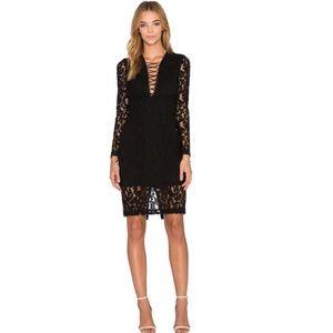 Bardot Dresses & Skirts - BARDOT Jenner Lace Up Dress