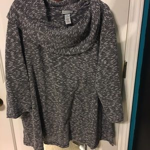 Catherines Tops - Cowl neck sweater