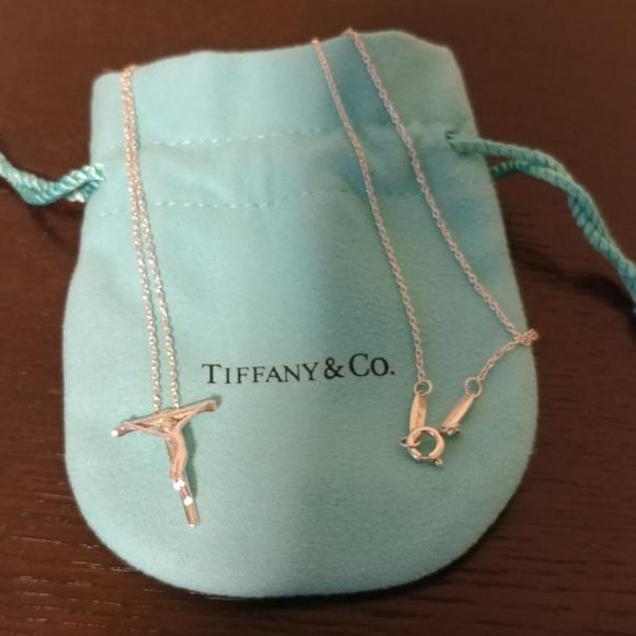 821a477ab Tiffany & Co. Jewelry | Tiffany Co Elsa Peretti Crucifix Pendant ...