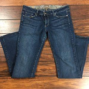 """Paige Jeans Denim - Women's Paige """"Canyon Boot"""" Jeans - Size 32"""