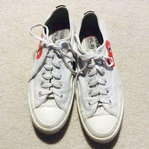 Comme des Garcons Shoes - Converse Comme des Garcons white low top 7M/ 9W