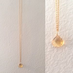 Satya Jewelry Jewelry - SATYA CitrIne Drop Necklace
