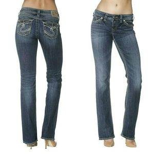 Silver Jeans Denim - NWT Silver Jeans Suki Curvy Fit Slim Bootcut Jeans