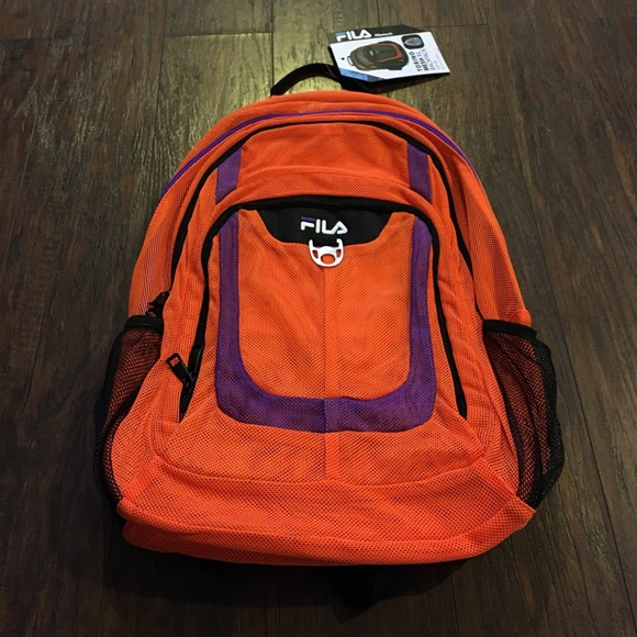 ed5bb72c6542 File New with small Defect XL mesh backpack