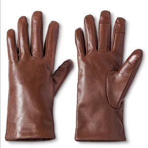 3M Thinsulate Accessories - NWT Brown Leather gloves