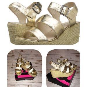 Michael Antonio Shoes - 🌻🌻Michael Antonio Gensen Wedge Shoes Sz 10 🌼🌼
