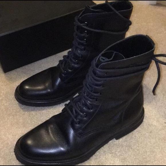 cb11884aae7 ... lace up boots Size 9.5. Saint Laurent. M_58ce43444e8d173bf70aead0.  M_58ce4345c6c795b9050af0ef. M_58ce4348291a3548320af23b.  M_58ce434a5a49d033530af050