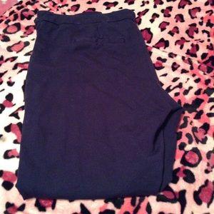 Merona Pants - Black Merona Side Zip Dress Pants, gently used