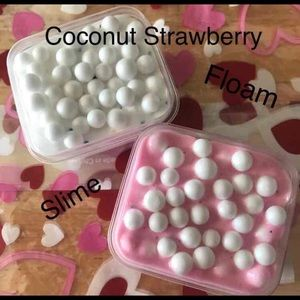 Other - Coconut Strawberry Floam