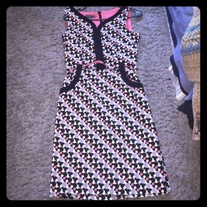 Poc-a-dot dress
