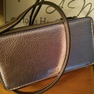 Reed Krakoff Handbags - REDUCED!! NICE REED PEWTER LEATHER CROSSBODY