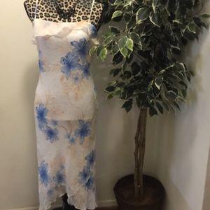 Iz Byer Dresses & Skirts - 🔥SALE🔥🎉HP🎉Iz Byer Spaghetti Strap Ruffle Dress