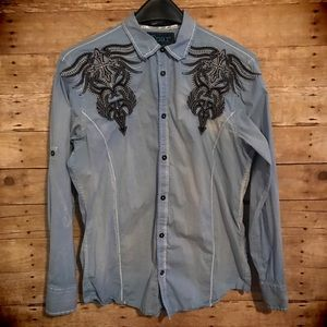 Roar Other - NWOT Roar Button Down Shirt