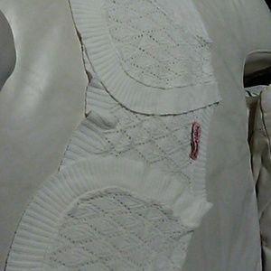Retro Chic Jackets & Blazers - white shaw Jacket( bundle 2 for 12