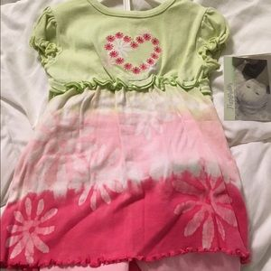 Flapdoodles Other - NWT girls tie dye 2 piece