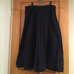 Eileen Fisher Dresses & Skirts - 💲💲SALE💲💲Eileen Fisher Navy Blue Skirt