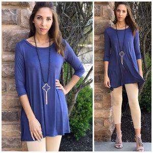 Threads & Trends Tops - Easy Wear Swing Tunic
