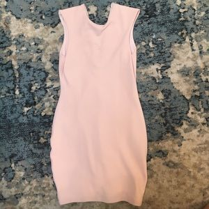 Bec & Bridge Dresses & Skirts - Bec & Bridge light pink sleeveless mini dress