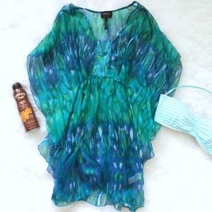 Laundry by Design Other - Laundry by Design Swim Coverup w Tie at waist