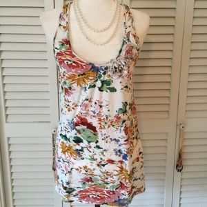 Fire Los Angeles Tops - Fire Los Angeles Floral Tunic Size Large