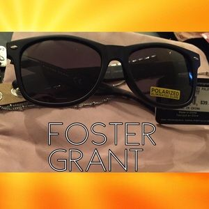 Foster Grant Accessories - Foster Grant Polarized Sunglasses 80s Retro Style