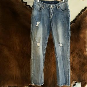 Distressed jeans, Rock & Republic, size 4