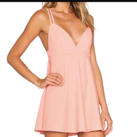 NBD x Naven Light Pink Dress b358e3fa7