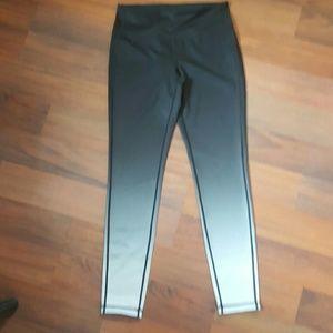 Athleta  Pants - Athleta Black Ombre Chaturanga Leggings