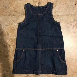 Soft Denim Dress/romper