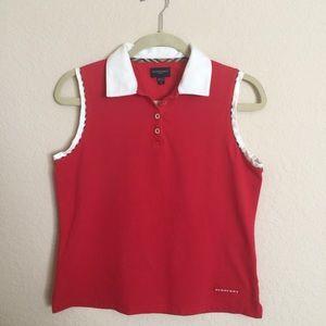 Burberry Tops - Burberry golf shirt