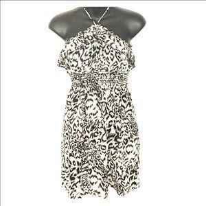Poetry Dresses & Skirts - ❤SALE❤ Animal print ruffle top Poetry sundress M