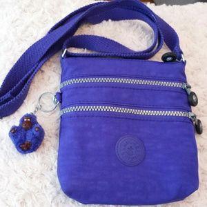 Kipling  Handbags - Kipling Purple Nylon Crossbody Bag