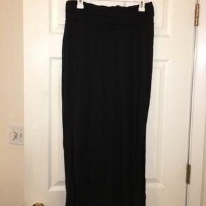 Old Navy Dresses & Skirts - Black Soft Maternity Maxi Skirt