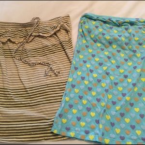 Lux Tops - Two tube tops. Urban Outfitters and Forever21, S.