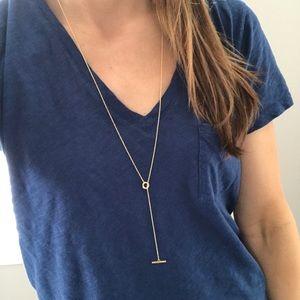 Gorjana Gold Lariat Necklace