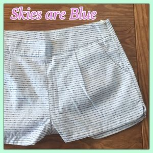 Skies are Blue Pants - 🦋🦋Gorgeous Skies are Blue shorty gingham shorts