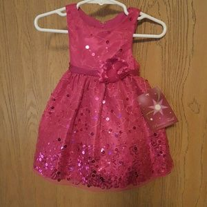 Other - Princess Faith New with tags 12 month pink dress