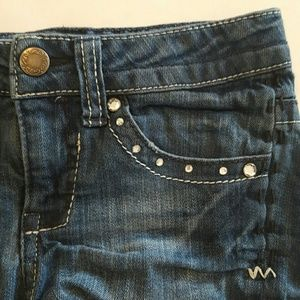 Cherokee Other - Cherokee Denim Shorts with Rhinestone