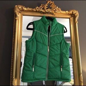 Paris Blues Other - Like New! Girls green ski vest, 12.
