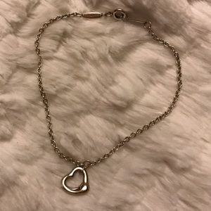 Tiffany & Co. Jewelry - Tiffany Elsa Peretti Open Heart Bracelet