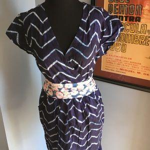 Rachel Roy Dresses & Skirts - Rachel Roy kimono style chevron summer dress