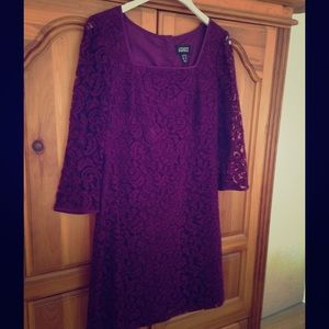 Adrianna Papell Dresses & Skirts - 👗Stunning Adrianna Papell lace dress. Size 10👗