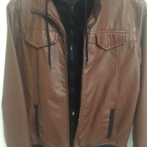 Express Other - [brooklyn cloth] pleather jacket