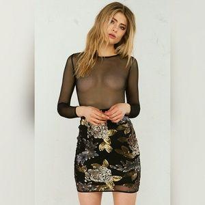 AKIRA Dresses & Skirts - AKIRA SEQUIN MESH DRESS