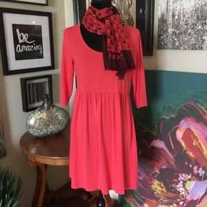Garnet Hill Tops - Garnet Hill 3/4 Sleeve Tunic/Dress