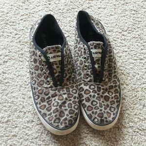 Airwalk Shoes - Airwalk Leopard Print Slip On Shoes